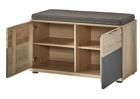 Předsíňový nábytek ACHAT_lavice typ 65 03 HH 60_otevřená_obr. 24