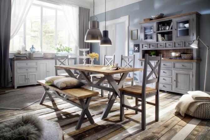 Obývacie a jedálenské zostavy ANTIC grey
