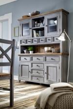Obývací a jídelní nábytek ANTIC grey_kombinovaná vitrina typ 15 v interieru_obr. 5