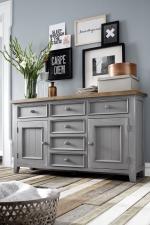 Obývací a jídelní nábytek ANTIC grey_komoda typ 01 v interieru_obr. 8