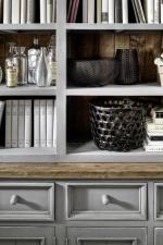 Obývací a jídelní nábytek ANTIC grey_detail provedení_obr. 39