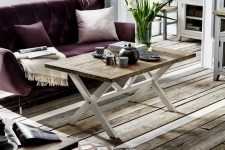 Obývací a jídelní nábytek ANTIC white v kombinací s ANTIC grey v interieru_obr. 5