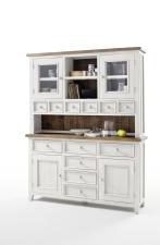 Obývací a jídelní nábytek ANTIC white_vitrína kombinovaná typ 15_obr. 8