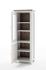 Obývací a jídelní nábytek ANTIC white_vitrína levá typ 10_otevřená_obr. 13