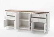 Obývací a jídelní nábytek ANTIC white_komoda typ 03_otevřená_obr. 17