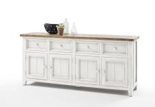 Obývací a jídelní nábytek ANTIC white_komoda typ 02_obr. 18