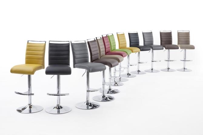 Barová stolička VENTURA I. chróm