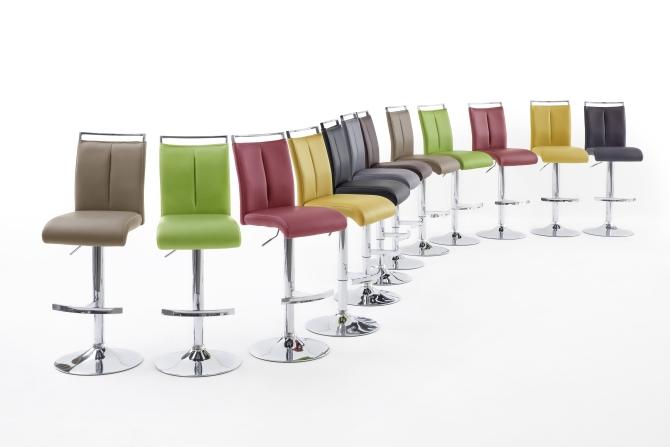 Barová stolička VENTURA II. chróm