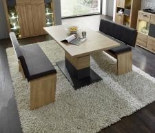 Jídelní nábytek BASE_jídelní stůl 29 32 H1 01  + 2x lavice 29 26 H1 04 (table serie 1)_obr. 23