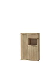 Předsíňový nábytek BASE_typ 10_šikmý pohled_obr. 19