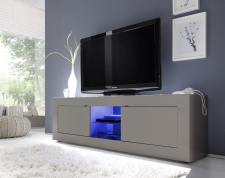BASICO_TV-element 181 cm_béžový matový melamin
