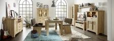 Obývací stěna BIRMINGHAM 10 C8 HH 81 + vitrina 03 + sideboard 20 + jídelní stůl + 2x jídelní lavice_obr. 3