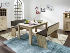 Jídelní nábytek BIRMINGHAM_jídelní stůl + 2x jídelní lavice_obr. 16