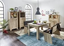 Jídelní nábytek BIRMINGHAM_jídelní stůl + 2x jídelní lavice + typy 04+05+06_obr. 17