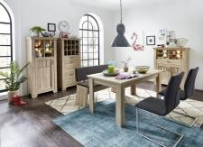 Jídelní nábytek BIRMINGHAM_jídelní stůl + jídelní lavice + typy 04+05+06_varianta 2_obr. 19