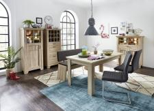 Jídelní nábytek BIRMINGHAM_jídelní stůl + jídelní lavice + typy 04+05+06_varianta 3_obr. 20