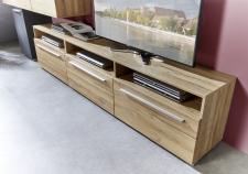 Obývací nábytek BRETT gold_detail TV-spodních dílů typ 31 a 32_obr. 9