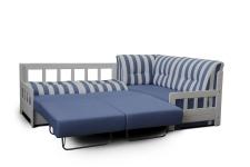 Rohová sedací souprava se separátním rozkládáním a úložným prostorem CAMPUS_rozložená_obr. 12