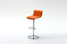 Barová židle CANDY_oranžová_obr. 4