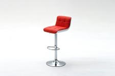 Barová židle CANDY_červená_obr. 5