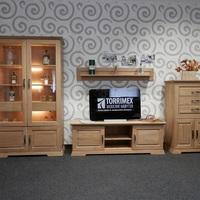 Obývacia zostava AMBRA, celomasivní dubový nábytok