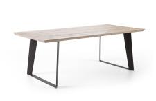 Jídelní stůl COBURG_dub bělený masiv_obr. 2