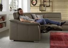 Kožená sedací souprava COMET_kůže Vivre stone_obr. 13