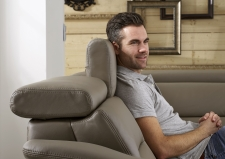 Kožená sedací souprava COMET_kůže Vivre stone_obr. 17