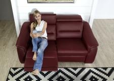 Kožená sedací souprava COMET-L_detail funkce polohování sedadel_obr. 53