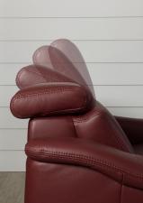 Kožená sedací souprava COMET-L_detail polohování opěrek hlavy_foto bez modelu_obr. 76