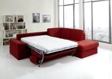 Sedací souprava COMFORT SLEEP_sofa 142 cm s funkcí na spaní + ottoman pravý_v látce Kati bordeaux (skup. 11)_obr. 36