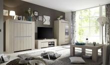 Sestava obývacího nábytku CONTE_highboard_TV-element 140 cm_vitrina_konferenční stůl_obr. 2