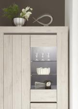 Obývací a jídelní nábytek CONTE_detail vitriny_obr. 8