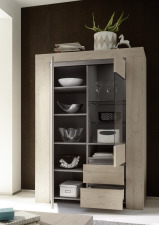 Obývací a jídelní nábytek CONTE_vitrina typ 06_otevřená_obr. 13