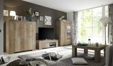 Obývací / jídelní nábytek CONTE II_volná sestava elementů_dub Canyon imitace_obr. 3