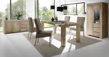 Obývací / jídelní nábytek CONTE II_volná sestava elementů - jídelna_dub Canyon imitace_obr. 5
