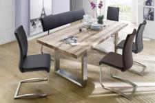 Jídelní lavice a židle CORA v interieru_obr. 4