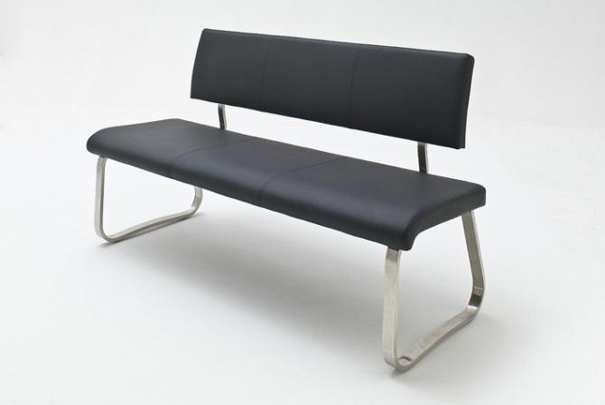 Jídelní lavice II. CORA_černá_obr. 1
