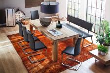 Jídelní lavice  a židle CORA v interieru_obr. 3