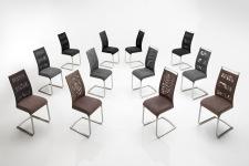 Jídelní židle CORRIDA_přehled provedení a barev_obr. 9