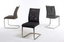 Jídelní židle CORRIDA_kazetový vzhled s kovovou aplikací_obr. 10