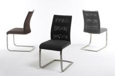 Jídelní židle CORRIDA_páskový vzhled s kovovou aplikací_obr. 12