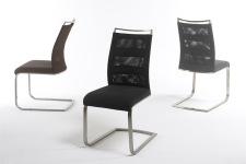 Jídelní židle CORRIDA_páskový vzhled s kovovou úchytkou_obr. 13