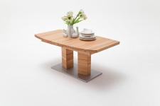 Jídelní stůl CORTES_buk kořenový masiv_zaoblená stolní deska_obr. 5