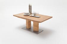 Jídelní stůl CORTES_dub divoký masiv_rovná stolní deska_obr. 9