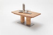 Jídelní stůl CORTES_dub divoký masiv_zaoblená stolní deska_obr. 11