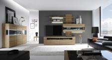 Celomasivní dubový nábytek DELGADO_návrh sestavy 18735_náhled interieru_obr. 8