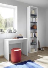 Psací stůl ESPERO 90 cm_samostatně stojící regál s 5-ti policemi, v. 230 cm_typy 671702-900_674602-45_obr. 21