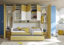 Nábytok pre deti a študentov ESPERO gelb (žltá varianta)