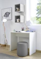 Psací stůl ESPERO 90 cm_1x sada stěnových regálů_typy 671702-900_624502-311 _obr. 18